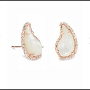 Kendra Scott Rose Gold Temple Earrings